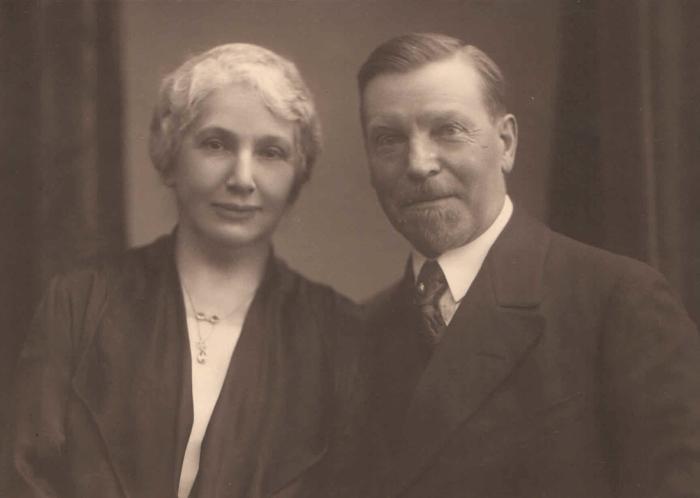 Elise Berger (geb. Keller) und Alwin Berger